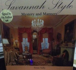 SAVANNAH STYLE: MYSTERY AND MANNERS signed F. Ed